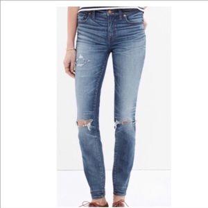 Madewell Skinny Skinny Distressed Jeans Size 32